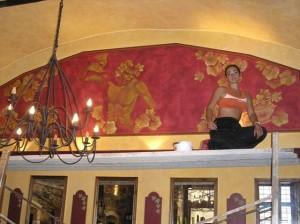 La Dolce Vita restaurant.