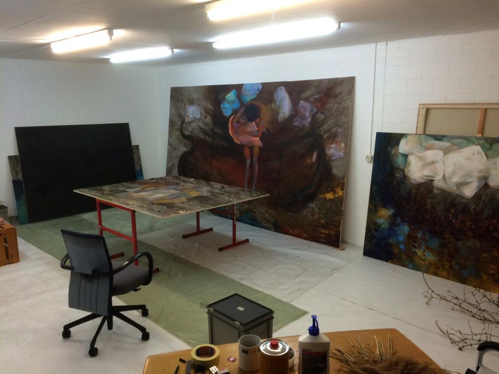 Studio view.